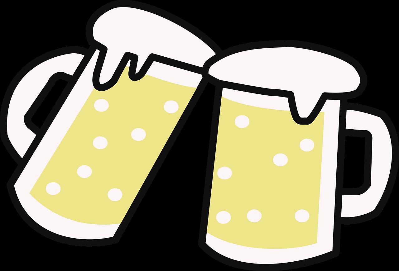 beer, beers, cups