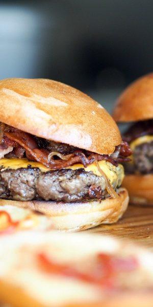 burgers, fast food, hamburgers
